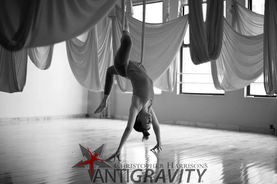 AntiGravity ® Yoga: Open up  Be Free!
