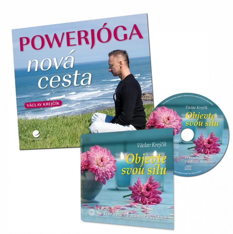 CD Objevte svou sílu a Powerjóga - nová cesta